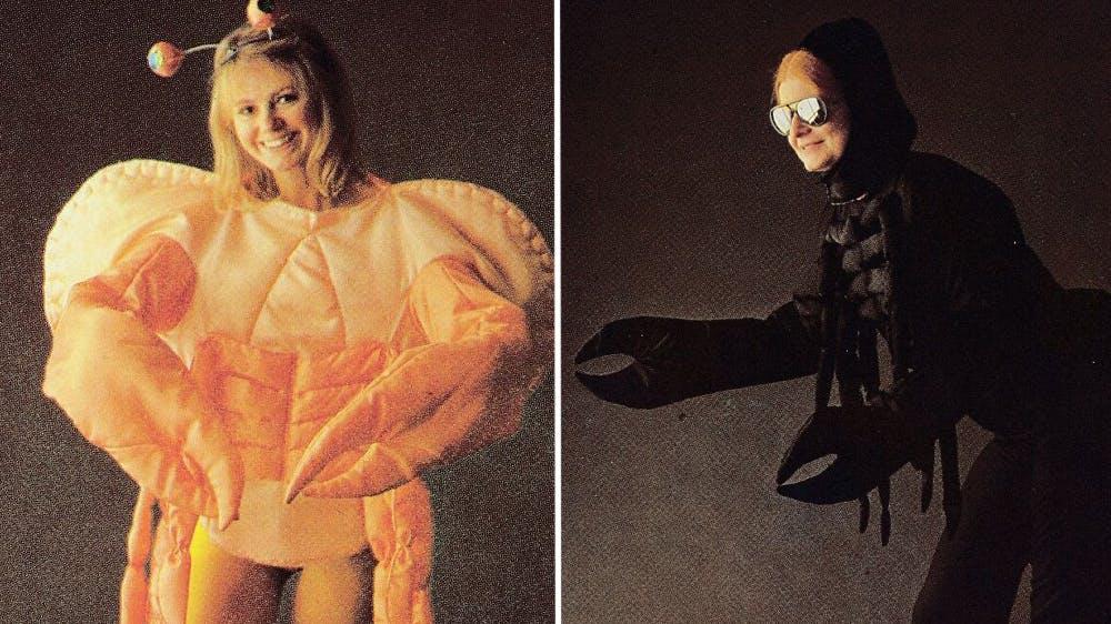 déguisement Le crabe et le scorpion années 80