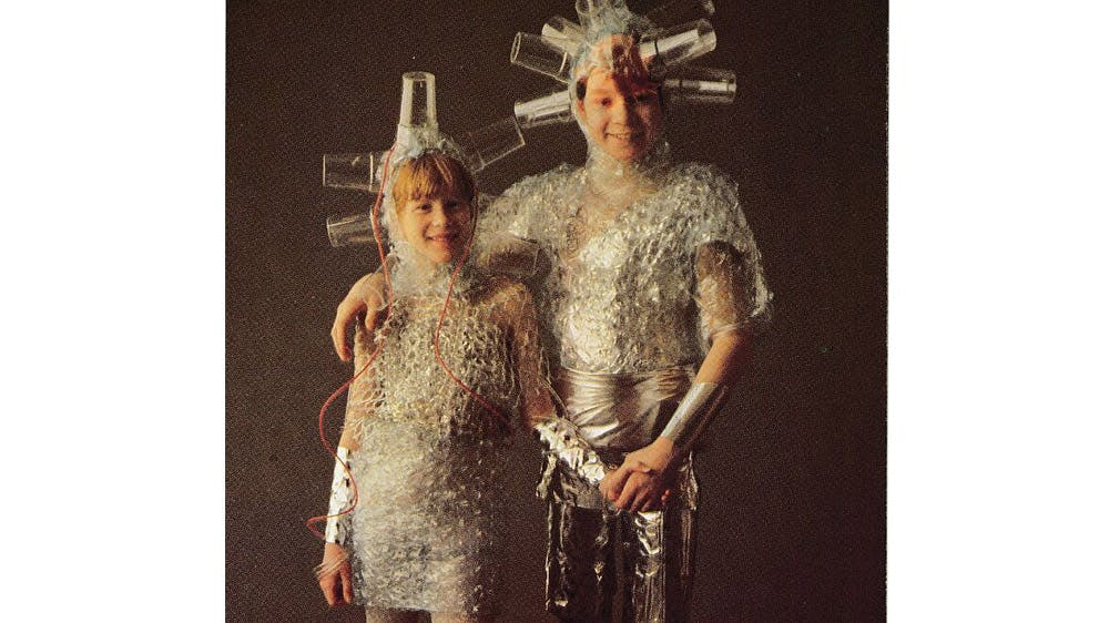 déguisement extraterrestres en plastique années 80