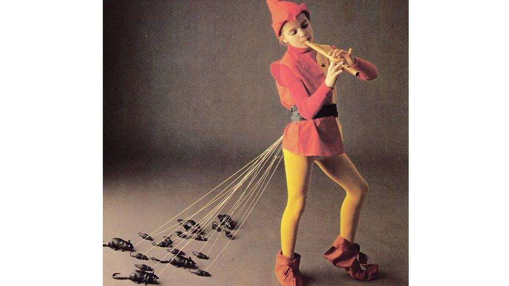 déguisement charmeur de rats années 80