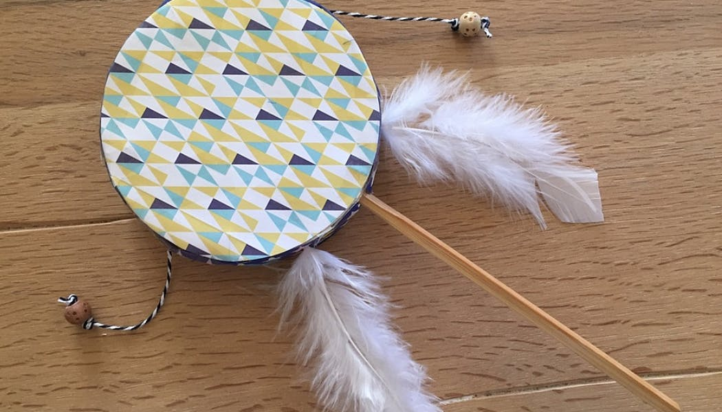 un tambourin au look design