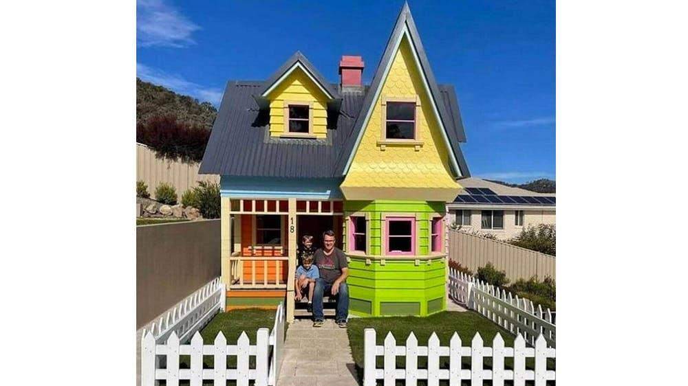 La maisonnette Là-Haut de Scott Fincher