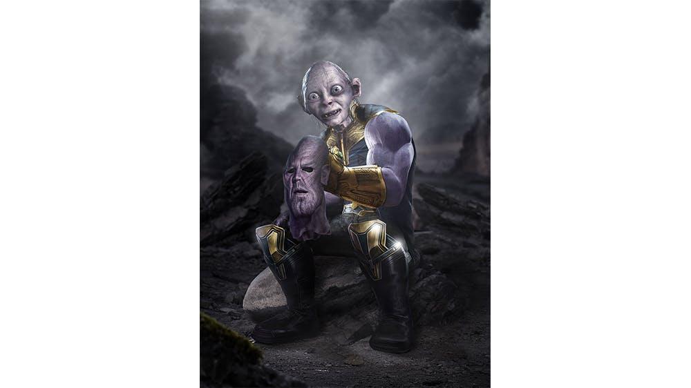 Thanos et Gollum