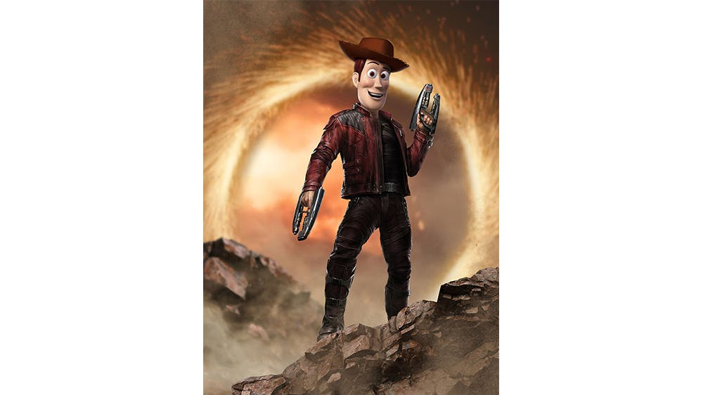 Woody et Star-Lord