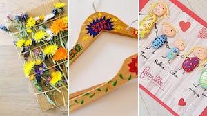 Fête des pères: 15 bricolages faciles à faire avec les maternelles