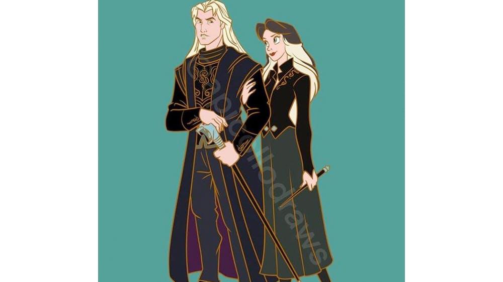 Quand John Smith et Vanessa deviennent Lucius et Narcissa Malefoy... par Alex Pick