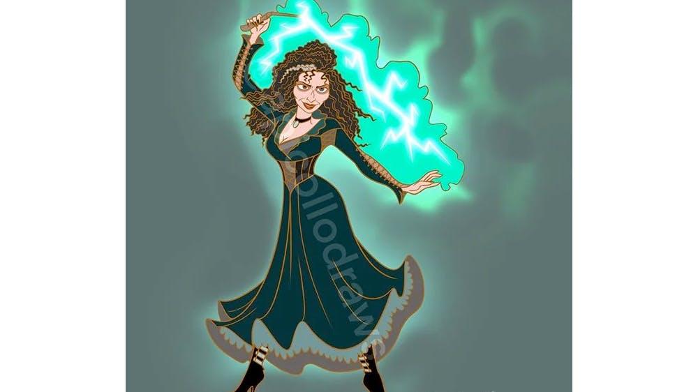 Quand Mère Gothel devient Bellatrix Lestrange... par Alex Pick