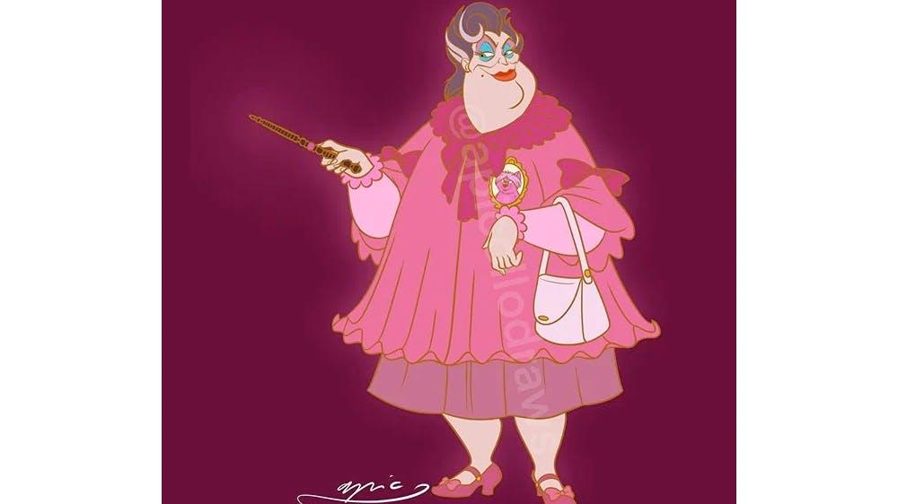 Quand Ursula devient Dolorès Ombrage... par Alex Pick