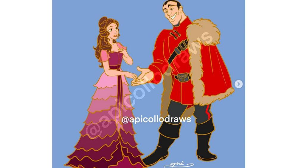 Quand Belle et Gaston deviennent Hermione et Viktor Krum... par Alex Pick