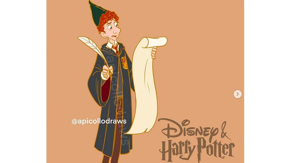 Quand Linguini devient Percy Weasley... par Alex Pick