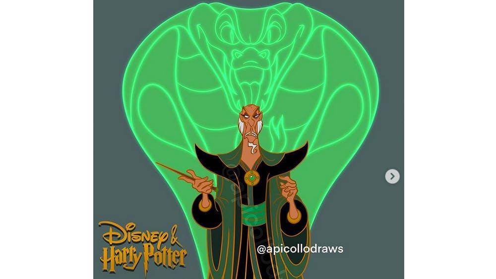 Quand Jafar est Salazar Serpentard... par Alex Pick