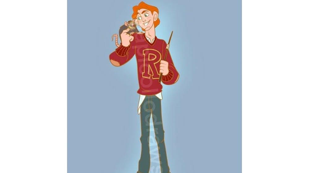 Quand Hercule devient Ron Weasley ... par Alex Pick