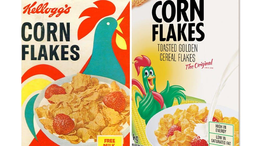 Le coq des Corn Flakes