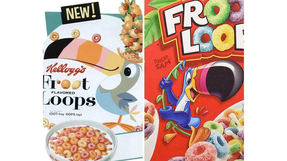 Le perroquet Froot Loops
