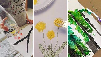 Top des 23 des techniques de peinture rigolotes pour enfants