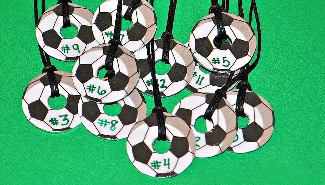 collier en forme de ballon