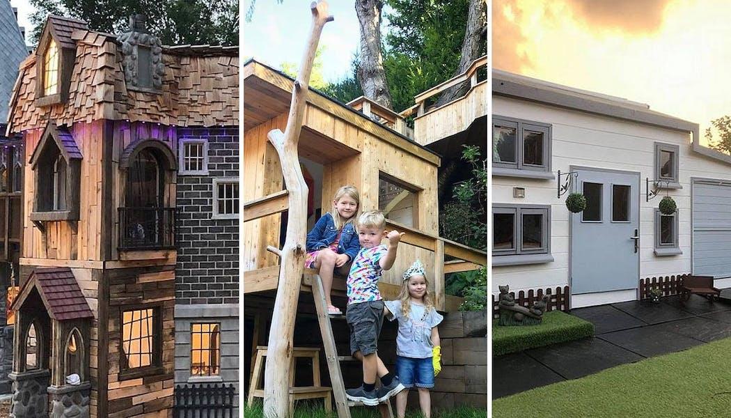 10 cabanes et aires de jeux incroyables créées par des parents