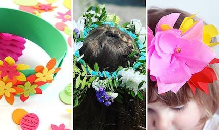 Top 16 des jolies couronnes de fleurs à faire avec les enfants