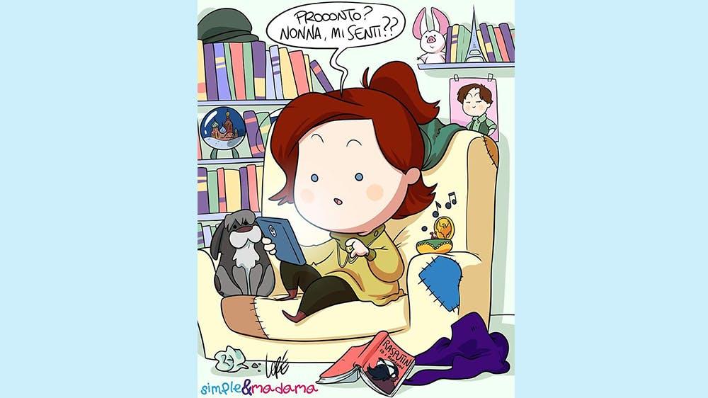 Les Princesses Disney pendant le confinement par Simple&Madama