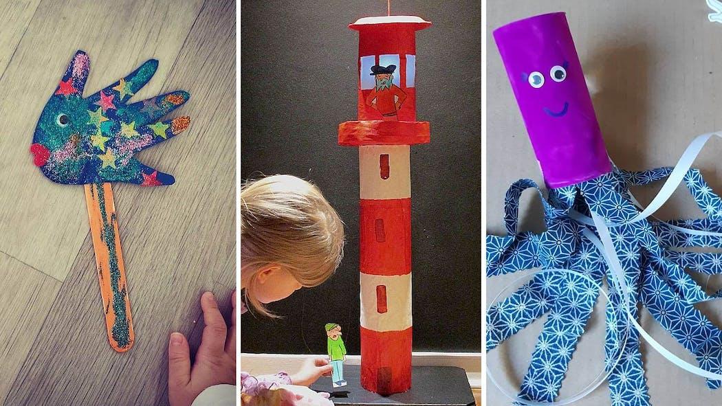 20 bricolages pour enfants créatifs et ludiques sur le thème de la mer