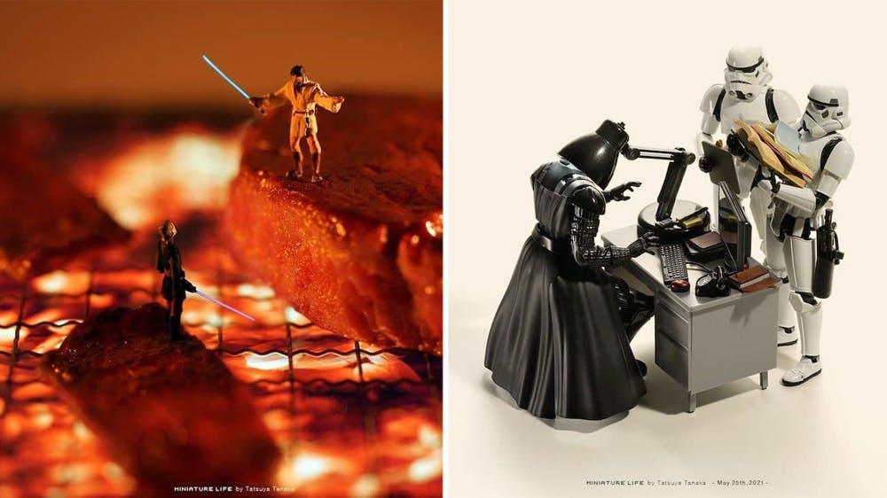#4 Star Wars : les scènes miniatures de Tatsuya Tanaka
