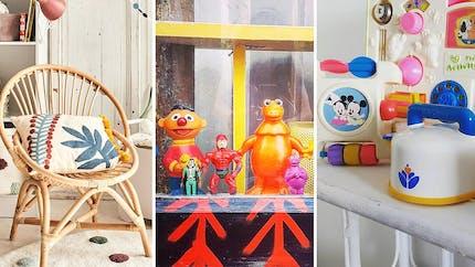 Déco vintage: 31 objets de notre enfance qu'on aurait dû garder