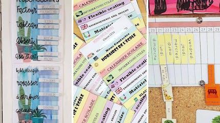 25 outils utilisés par les instits pour préparer la rentrée scolaire