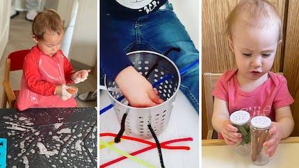20 activités sensorielles pour enfants : boîte à odeurs, bac sensoriel...