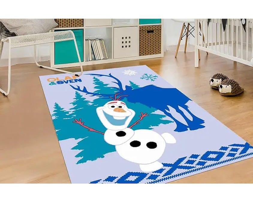 tapis Olaf de La Reine des neiges