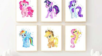 affiches My Little Pony