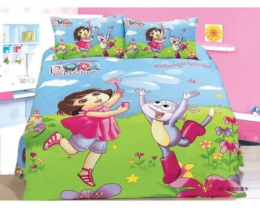 Une parure de lit Dora l'exploratrice