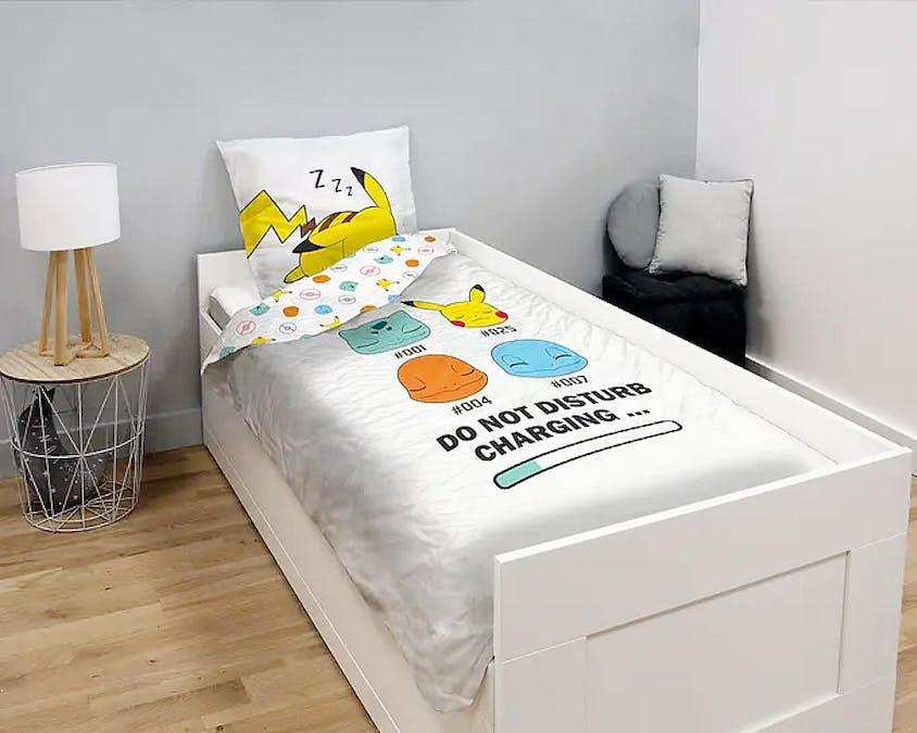 Une parure de lit Pokémon