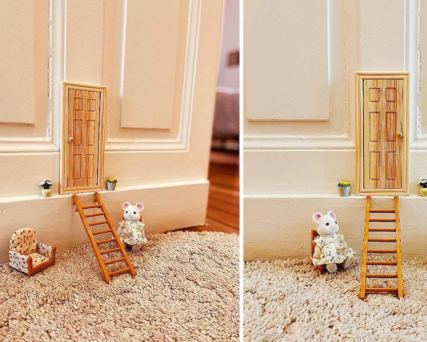 La maison de la petite souris