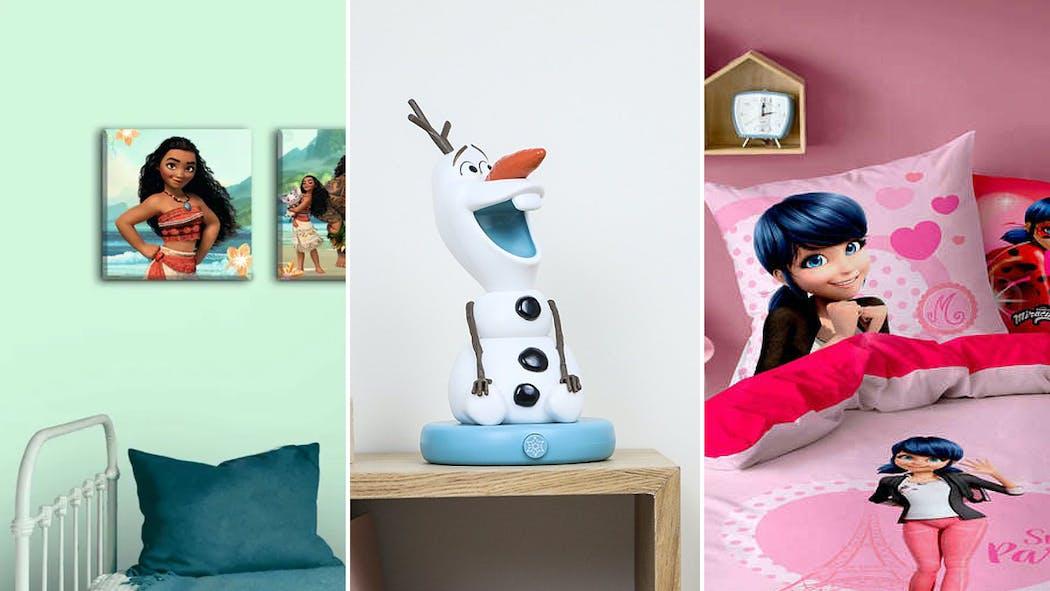 25 décorations aux couleurs des personnages préférés de votre enfant