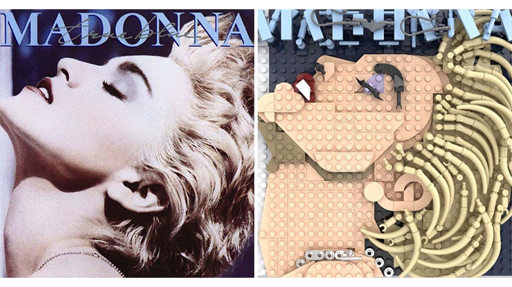 Pochettes d'albums en LEGO / Adnan Lotia - uvupv