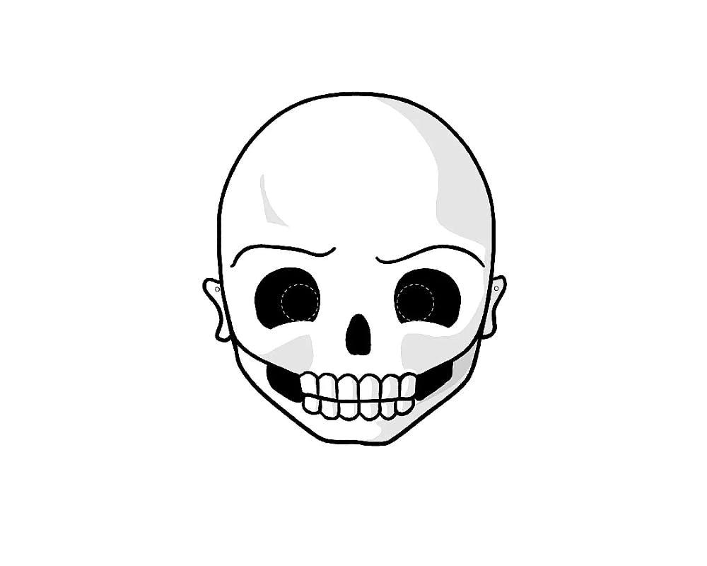 Un masque tête de mort