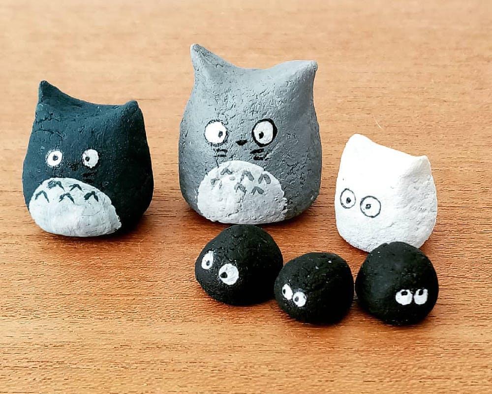 Totoro en pâte à sel