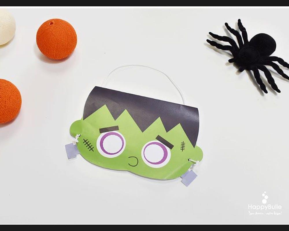 Un masque Frankenstein
