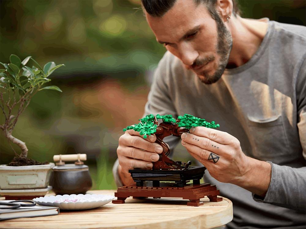 bonsaï en Lego