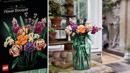Offrir un bouquet de fleurs en Lego, c'est maintenant possible !