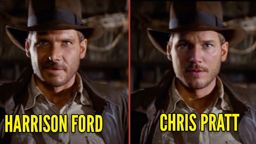 Indiana Jones Chris Pratt remplaçant Harrison Ford