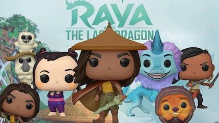 Raya et le dernier Dragon : Disney dévoile les figurines Funko Pop! de son nouveau film