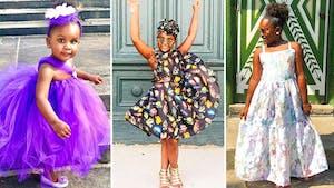 Ce papa crée des tenues uniques et colorées pour que sa fille ait plus confiance en elle