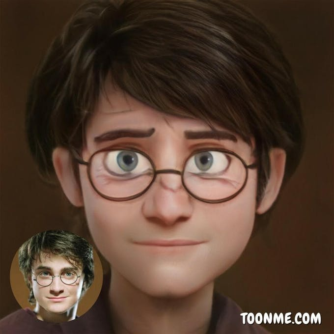 ToonMe Daniel Radcliffe