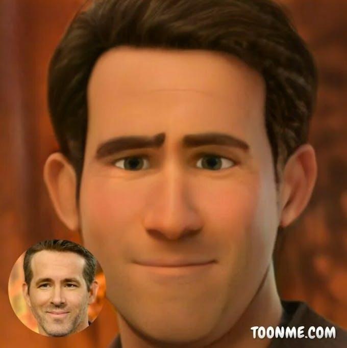 ToonMe Ryan Reynolds