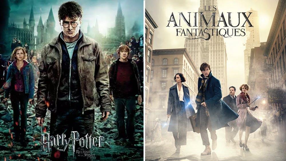 Harry Potter et Les Animaux Fantastiques affiches