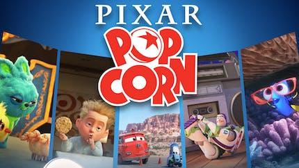 Pixar Popcorn : Disney+ dévoile des courts métrages Pixar inédits