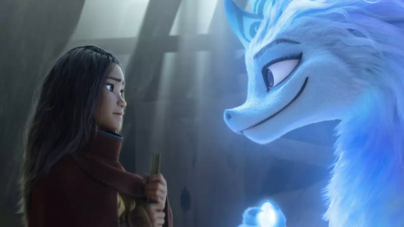 raya et le dernier dragon disney Raya et le dragon Sisu