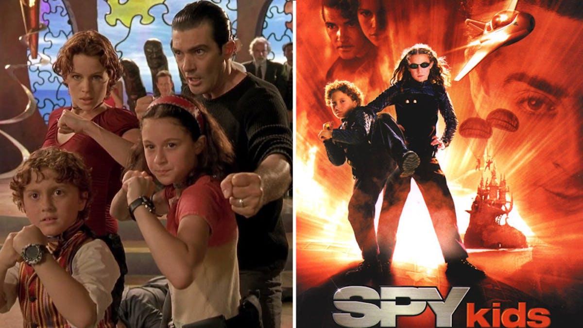 film spy kids affiche et extrait famille
