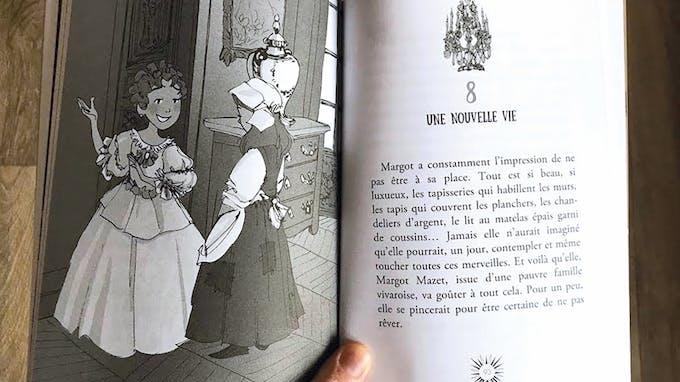 extrait livre À nous Versailles ! tome 1 La marquise au poison
