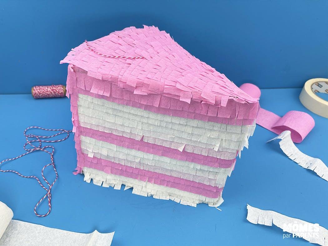DIY Pinata d'anniversaire étape 12